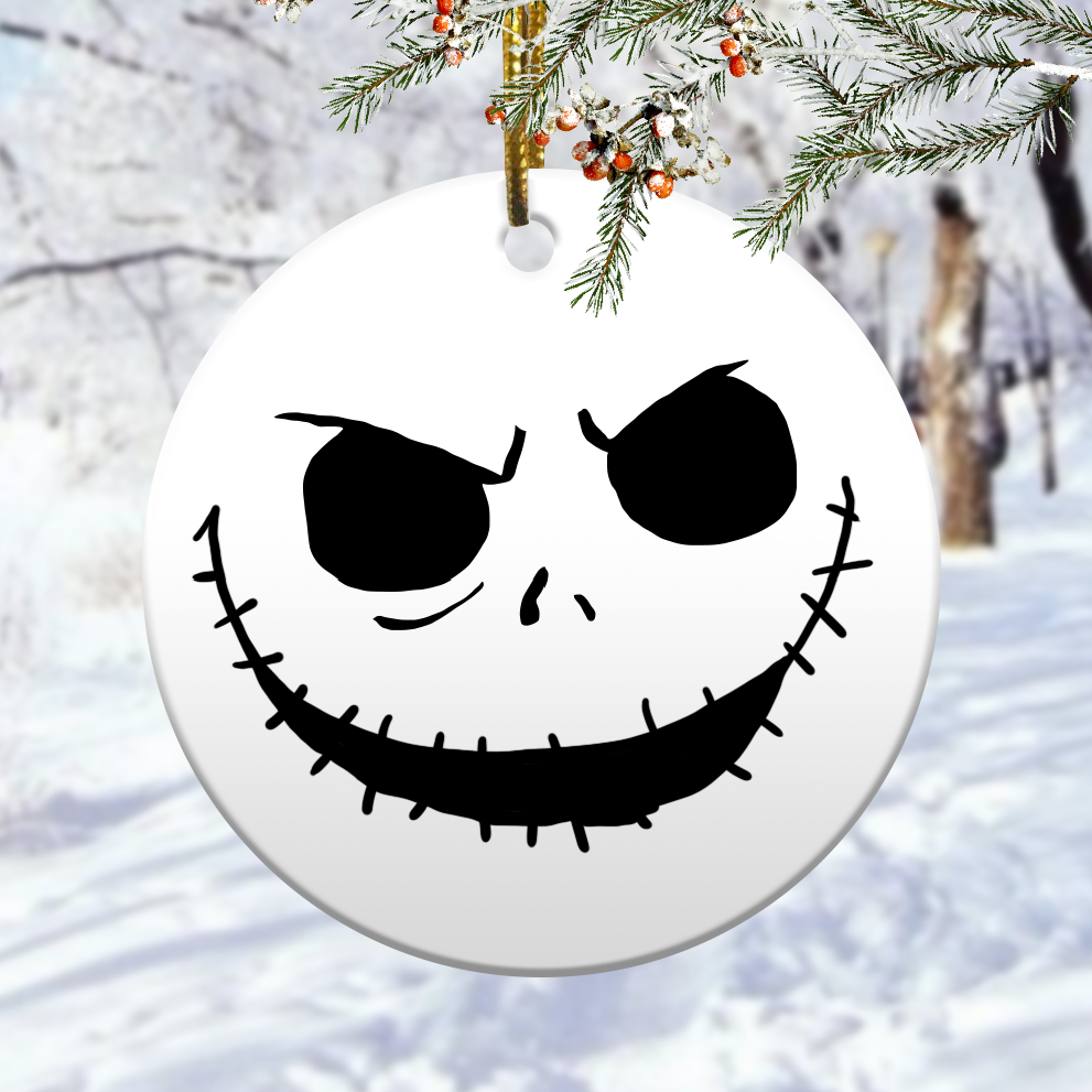 Nightmare before christmas ornaments 1
