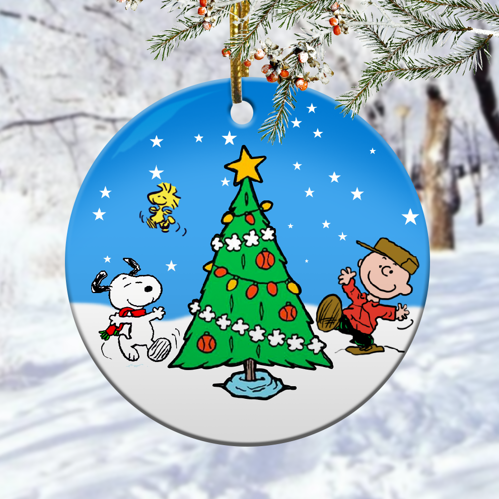 Peanuts christmas ornaments 1