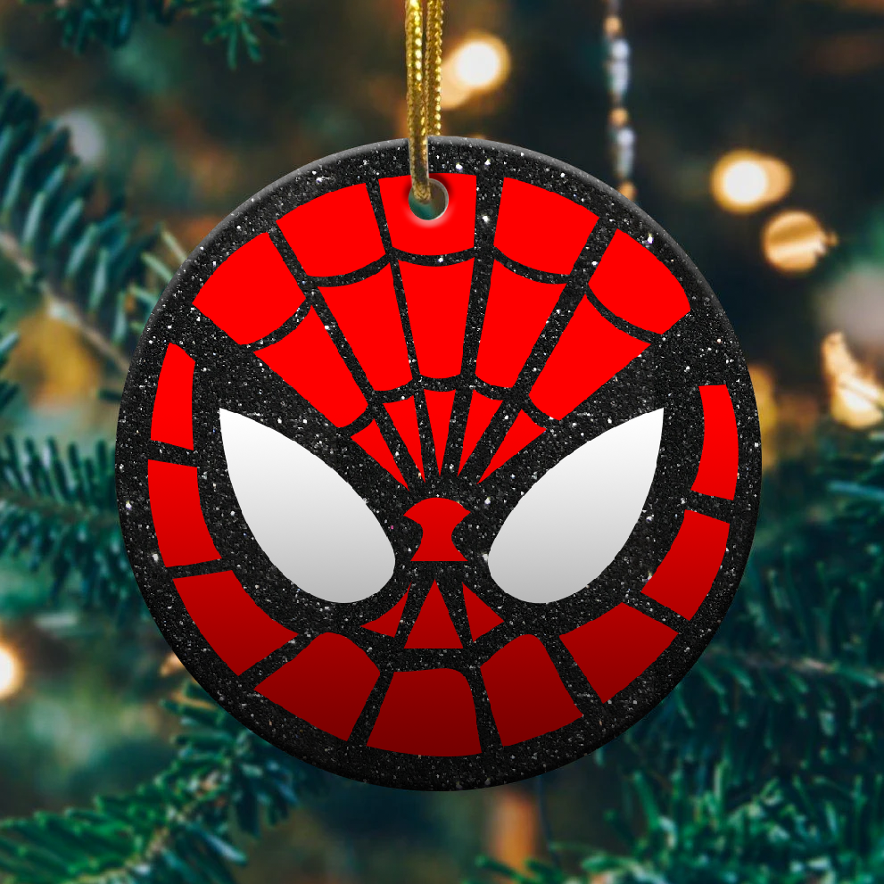 Spiderman christmas ornament 1
