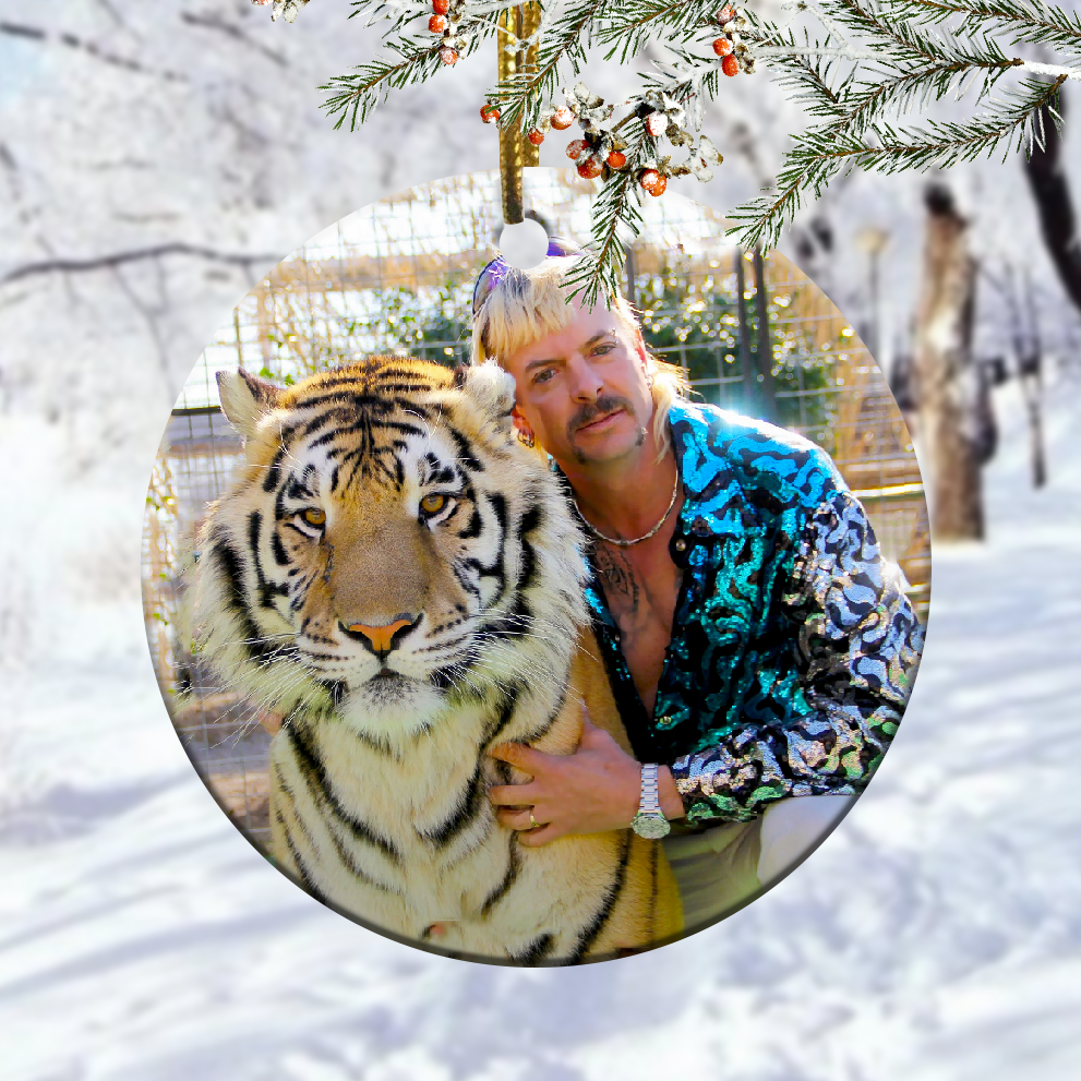 Tiger King Christmas Ornament 1
