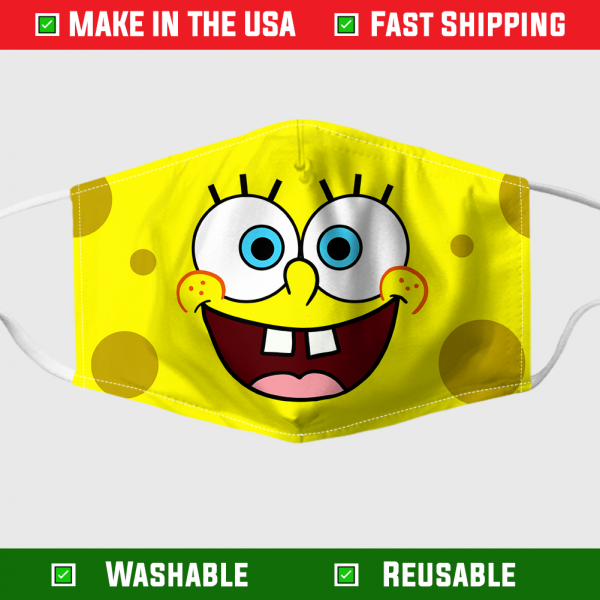 Spongebob Face Mask Made In The Usa 282726 1