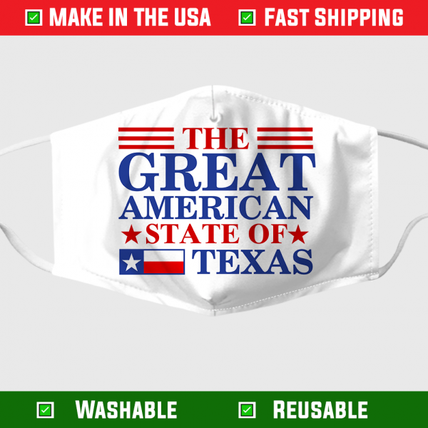 The Great American State Of Texas Face Mask 282752